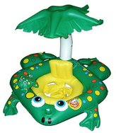 Frog Learn-To-Swim Baby Seat w/Top