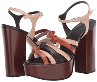 Marc Jacobs The 70s Sandal 80 mm (Tan) Women's Shoes