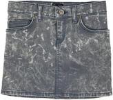 Lee Bleached denim skirt