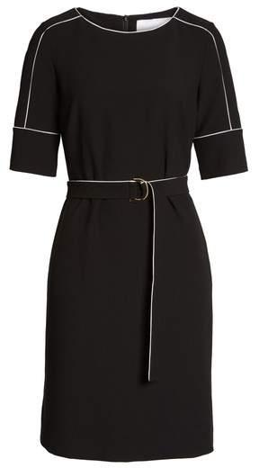 BOSS Petite Women's Duwimea Seamed Pencil Dress