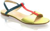 T-Bar Satin Sandal