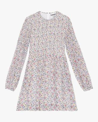 Ganni Georgette Mini Dress