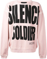 Haider Ackermann Silence Soldier sweatshirt - men - Cotton - S