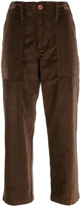 Jejia High Waisted Cropped Trousers