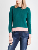Chinti and Parker Ribbed wool and cashmere-blend jumper