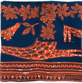 Valentino Garavani giraffe print scarf
