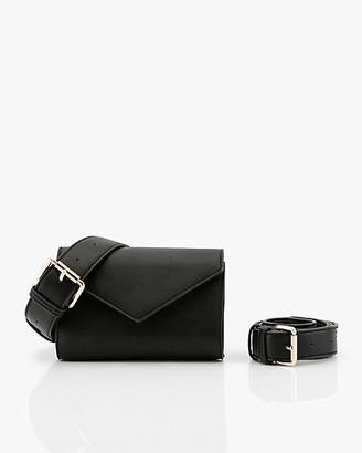 Le Château Faux Leather Belt Bag