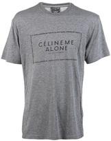 Celine Nycparis me alone t-shirt