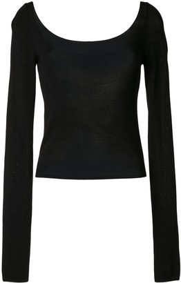 Georgia Alice Pearl scoop neck top