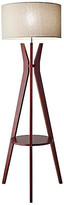 One Kings Lane Bedford Shelf Floor Lamp - Walnut