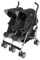 Maclaren Twin Triumph Double Stroller in Black/Charcoal