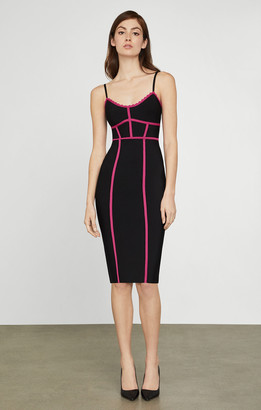BCBGMAXAZRIA Strappy Bodycon Dress