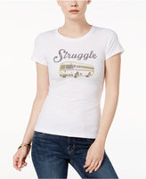 Kid Dangerous Cotton Struggle Bus Graphic T-Shirt
