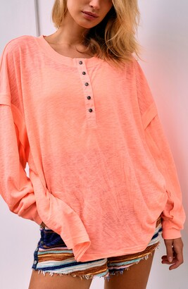 Free People One Up Long Sleeve Top