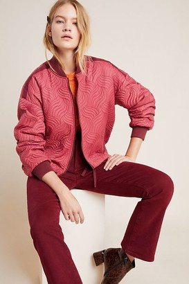 Anthropologie Vicente Quilted Bomber Jacket