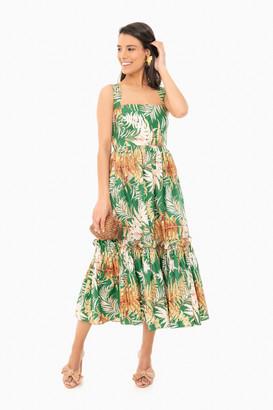 Cara Cara Fern Green Julia Dress