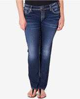 Silver Jeans Suki Straight - ShopStyle