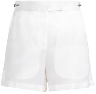 Helmut Lang Silk Organza Shorts