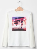 Gap GapFit kids graphic wicking tee