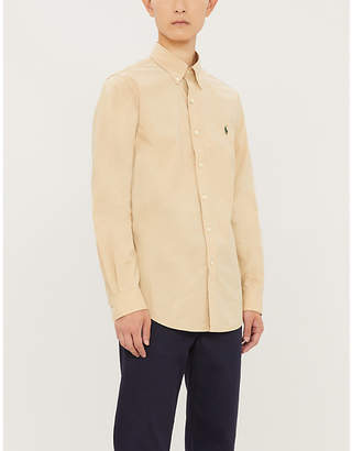 Polo Ralph Lauren Logo-embroidered slim-fit cotton shirt