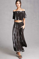 Forever 21 FOREVER 21+ Boho Me Tie-Dye Palazzo Pants