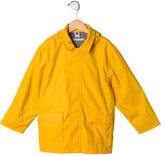 Petit Bateau Girls' Hooded Rain Coat