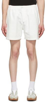 Schnaydermans Off-White Denim Shorts