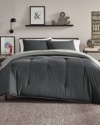 Nautica Solid Reversible Comforter Set