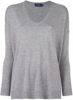 Polo Ralph Lauren v neck fine knit jumper