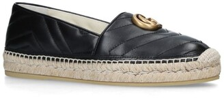 Gucci Leather Pilar Espadrilles