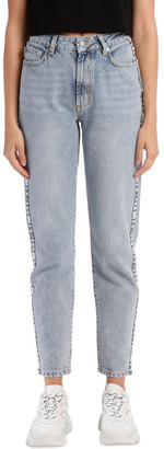 Fiorucci Tara Classic Jean Tapered With Logo Tape