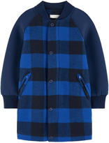Stella McCartney Long bi-material teddy jacket