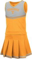 Colosseum Girls Youth Tennessee Orange Tennessee Volunteers Pinky Cheer Dress