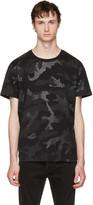 Valentino Black Camo T-shirt