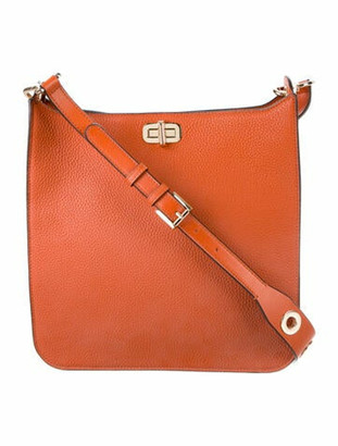 MICHAEL Michael Kors Sullivan Large Messenger Bag w/ Tags Orange