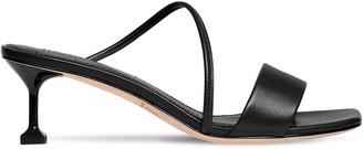 Mara & Mine 35mm Leather Mule Sandals