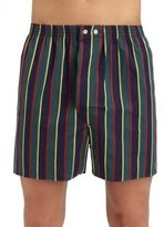 Derek Rose Striped Boxer Shorts