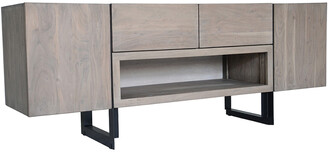 Moe's Home Collection Tiburon Media Cabinet Pale Grey