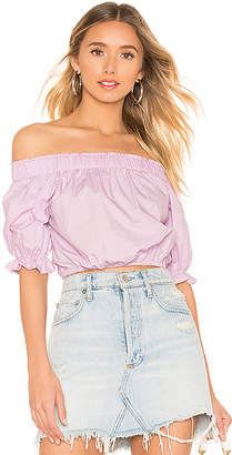 superdown Candice Off Shoulder Top