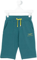 Aston Martin Kids - track shorts - kids - Cotton/Spandex/Elastane - 2 yrs