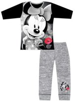 Disney Girls Minnie Mouse Long Length Pajamas Age 4 to 8 Years