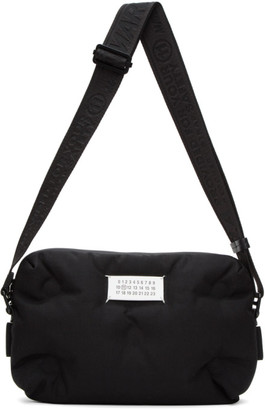 Maison Margiela Black Glam Slam Messenger Bag
