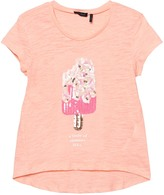 Ikks Pink Sequin Ice Lolly T-Shirt