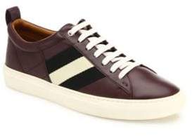 Bally Helvio Lace-Up Leather Sneakers