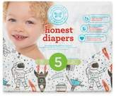 The Honest Company Honest 25-Pack Size 5 Diapers in Space Traveling Pattern