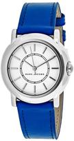 Marc Jacobs Courtney MJ1451 Women's Blue Leather and Stainless Steel Watch