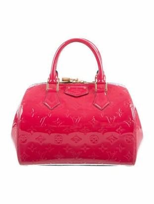 Louis Vuitton Vernis Montana Bag Rose