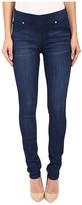 Liverpool Sienna Pull-On Silky Soft Denim Skinny Jean Leggings in Havasu Deep Blue