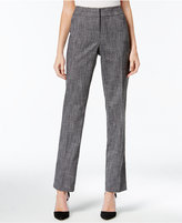 JM Collection Heathered Career Pants, Only at Macy's