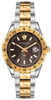 Versace Two Tone Hellenyium Watch, 42mm